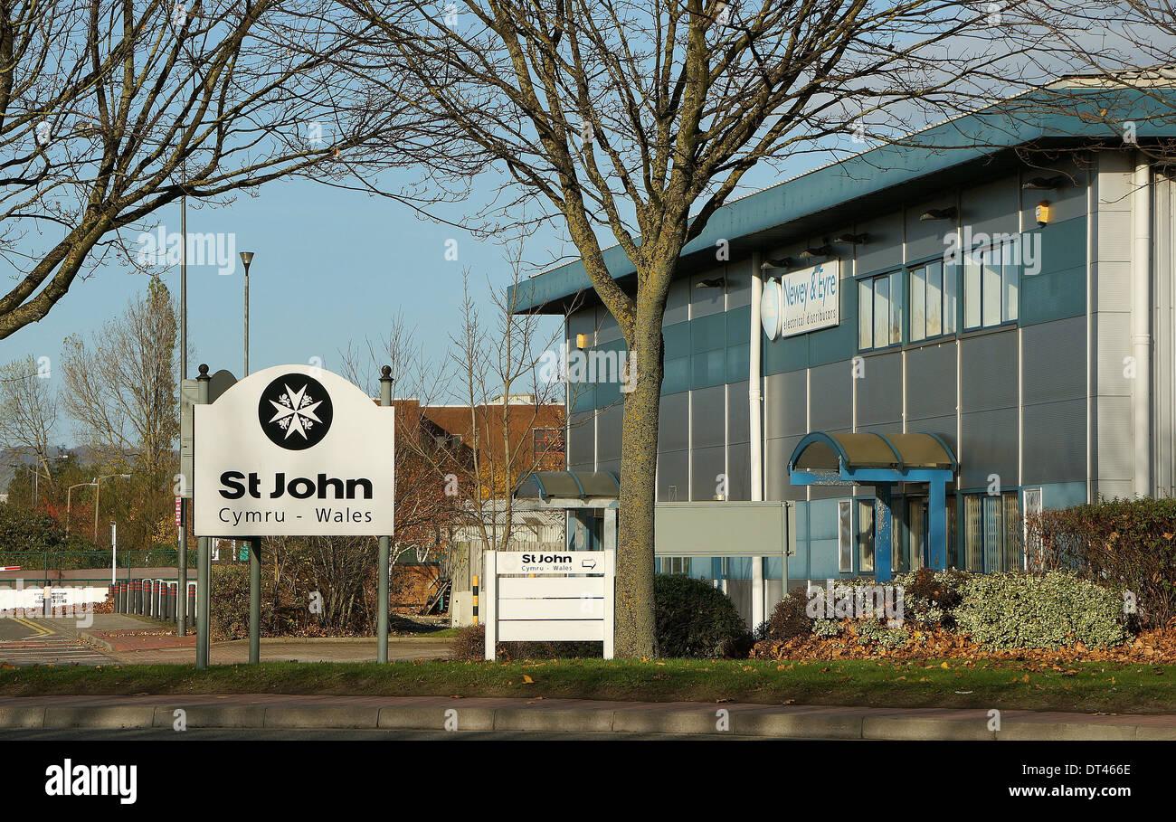 St John Ambulance Logo Stock Photos & St John Ambulance Logo Stock