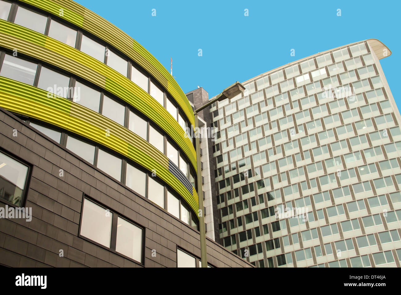 Modern architecture in Berlin, capital city of Germany - Stock Image