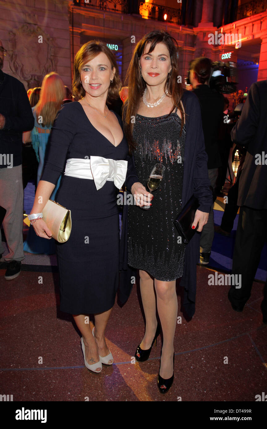 Tina Ruland and Anja Kruse attending the Blue Hour Party at the 64th Berlin International Film Festival / Berlinale Stock Photo