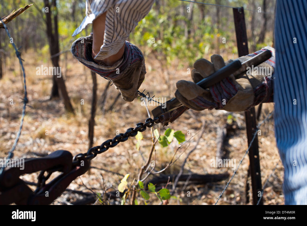 Fence Wire Strainer Stock Photos & Fence Wire Strainer Stock Images ...