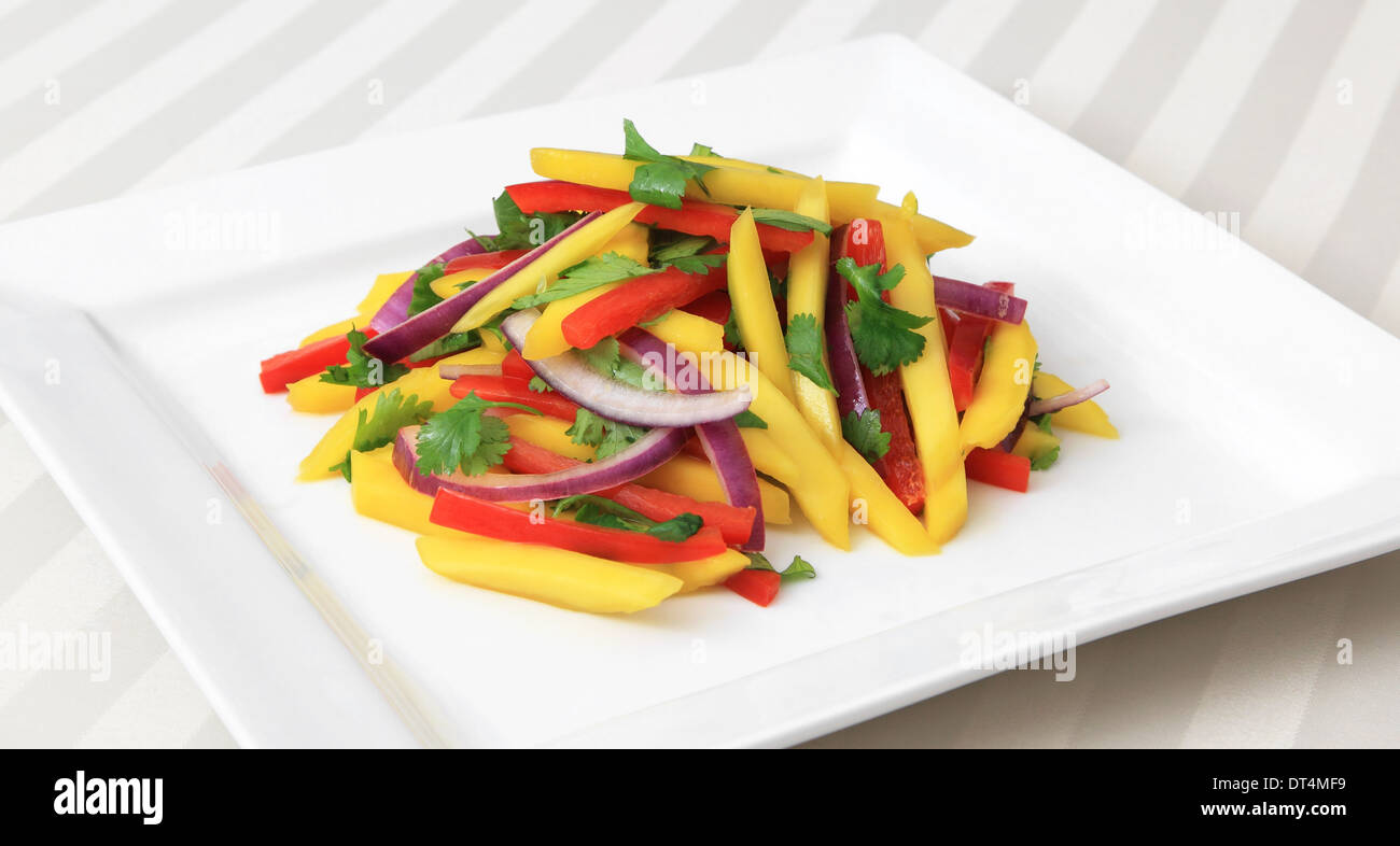 how to make thai mango salad