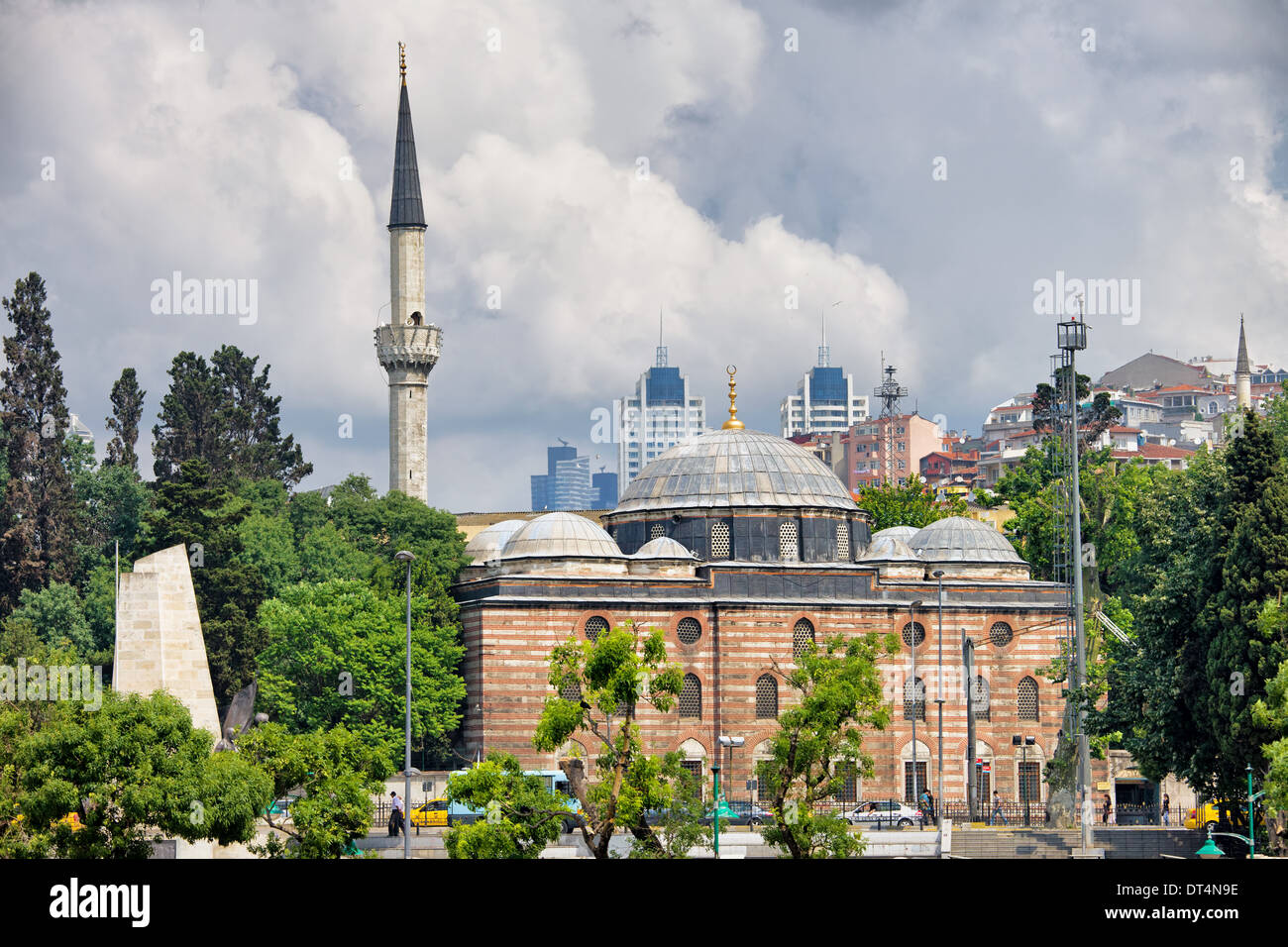 Sinan Pasha Mosque (Turkish: Sinan Pasa Camii) in Istanbul, Turkey. 16th century Ottoman style architecture, Besiktas Stock Photo