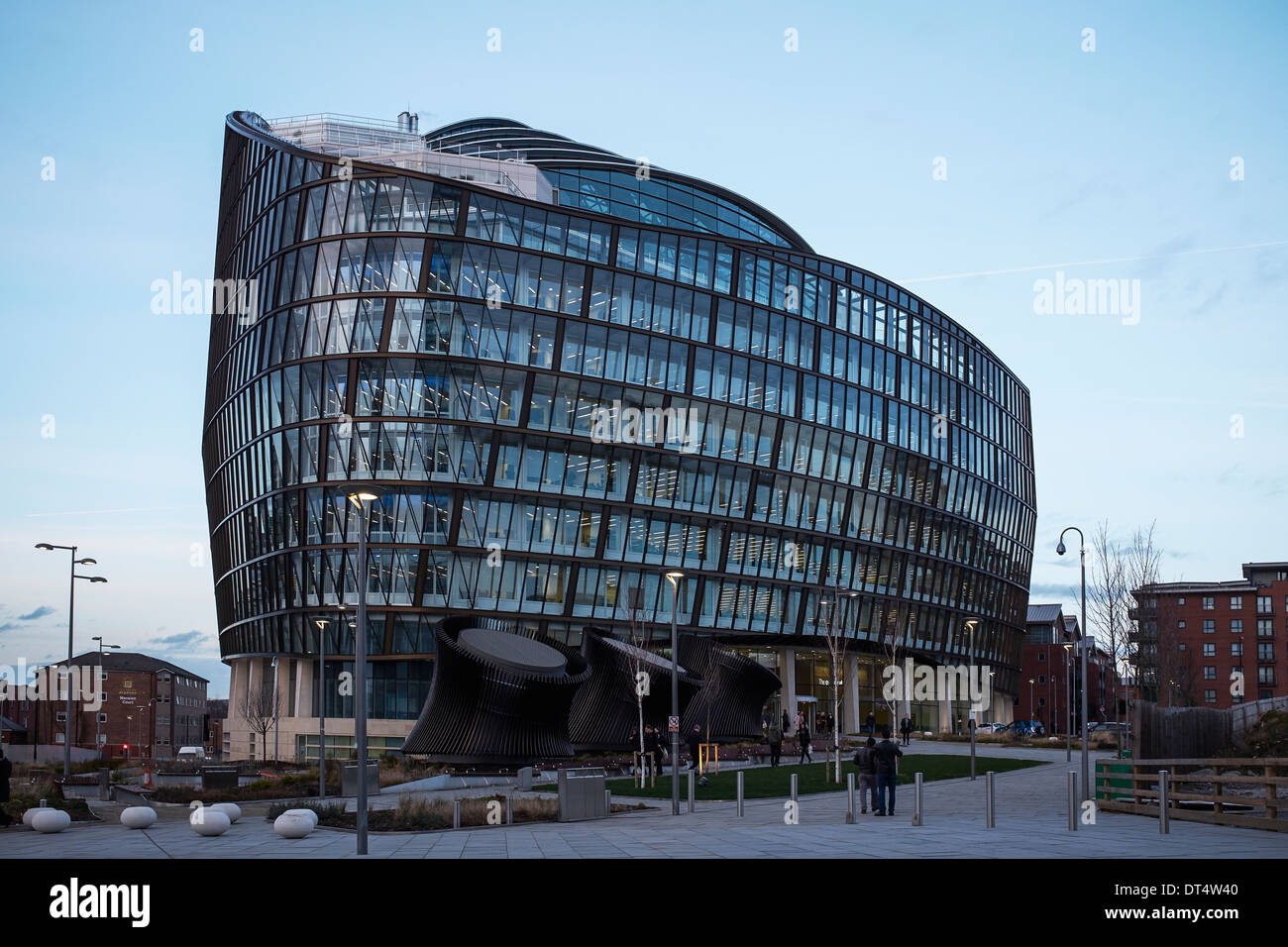 The new offices of Coop Insurance at One Angel Square Manchester - Stock Image