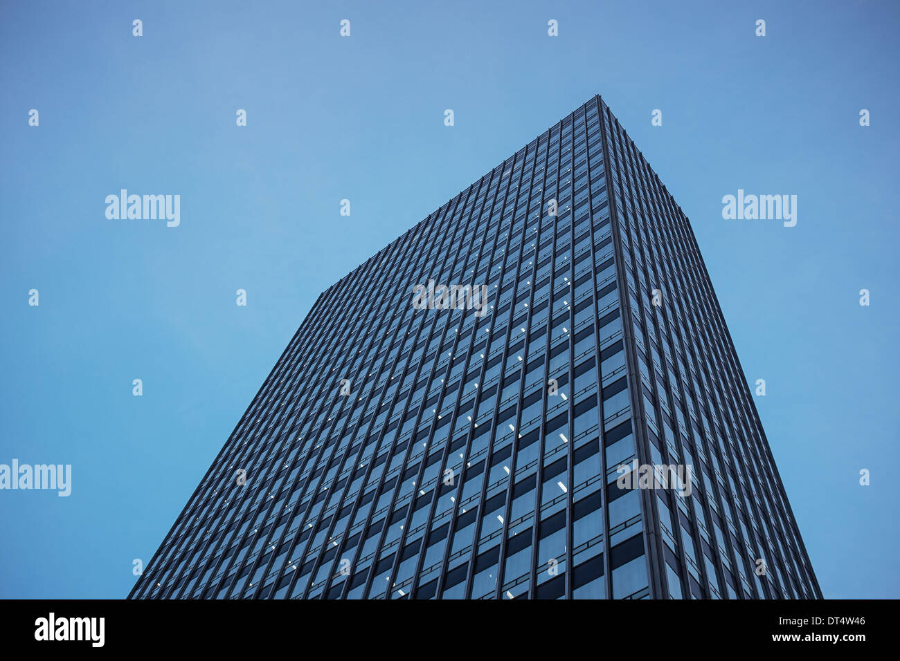The CIS tower in Manchester city centre UK - Stock Image