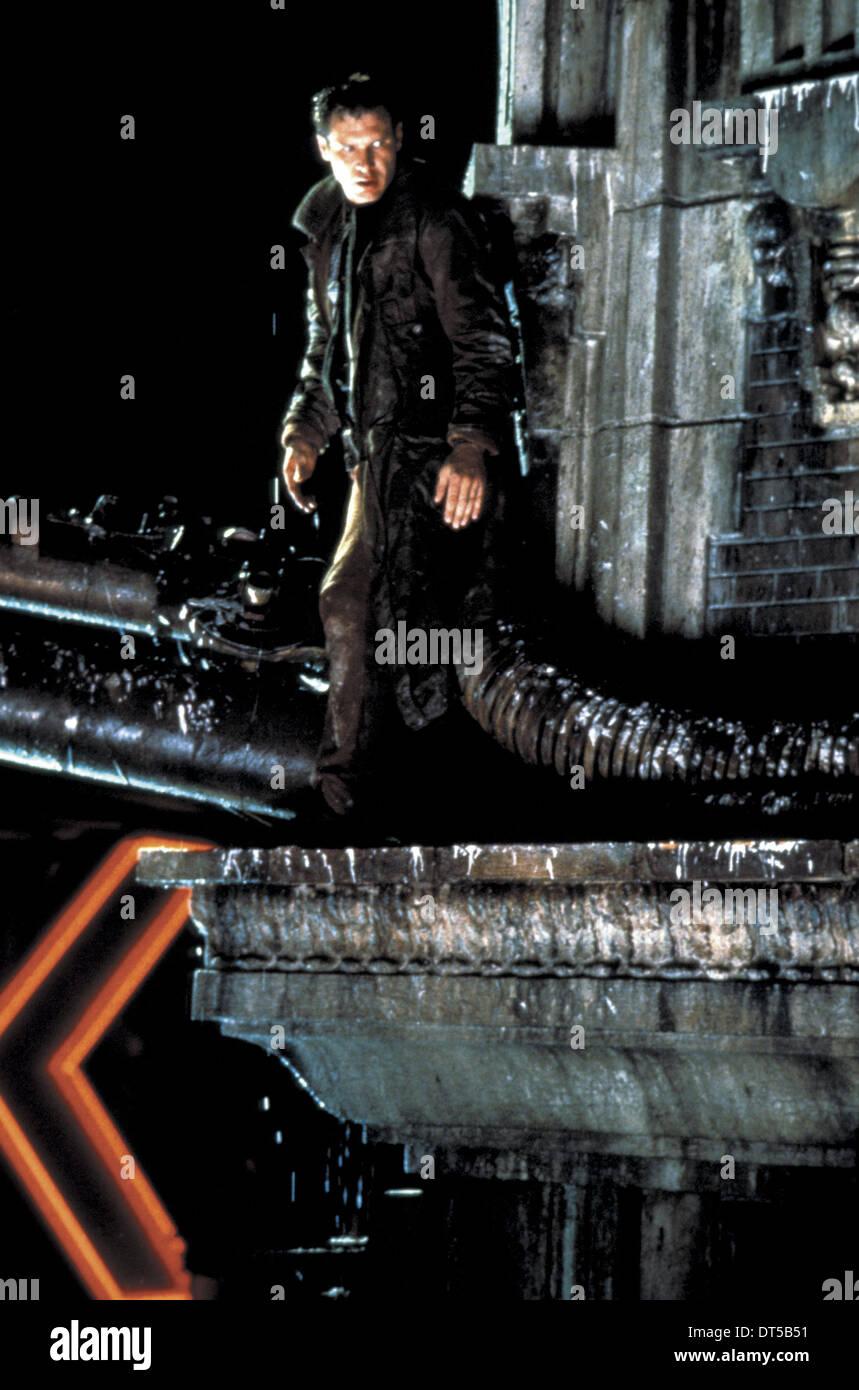 HARRISON FORD BLADE RUNNER (1982) - Stock Image