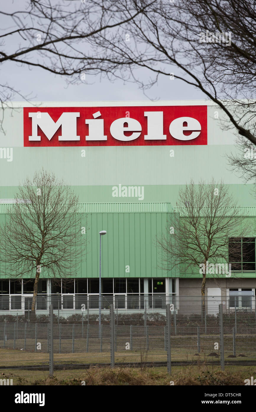 The Miele Factory Gutersloh Nordrhein Westfalen Germany