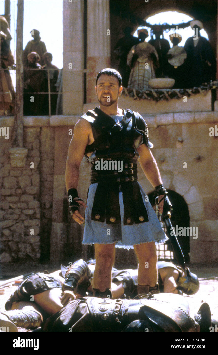 GLADIATOR RUSSELL CROWE (2000) - Stock Image