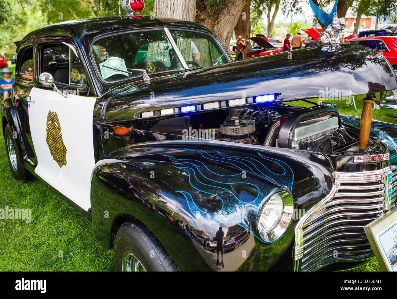 Antique Police Car Stock Photos & Antique Police Car Stock Images ...