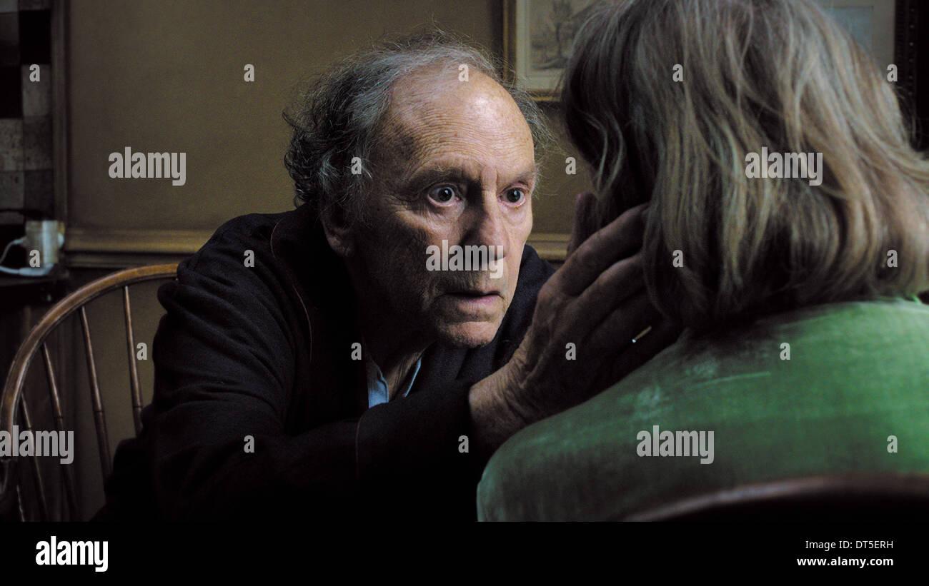JEAN-LOUIS TRINTIGNANT LOVE; AMOUR (2012) - Stock Image