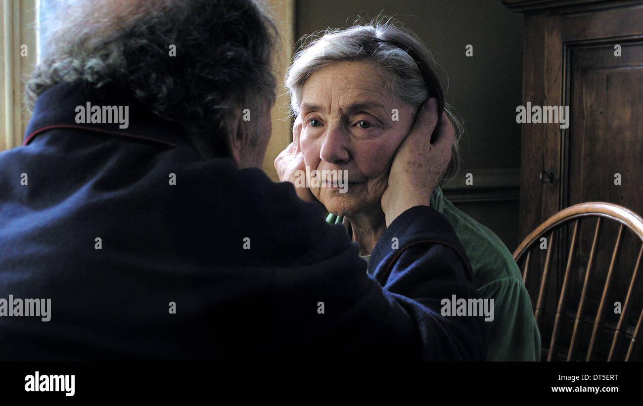 EMMANUELLE RIVA LOVE; AMOUR (2012) - Stock Image