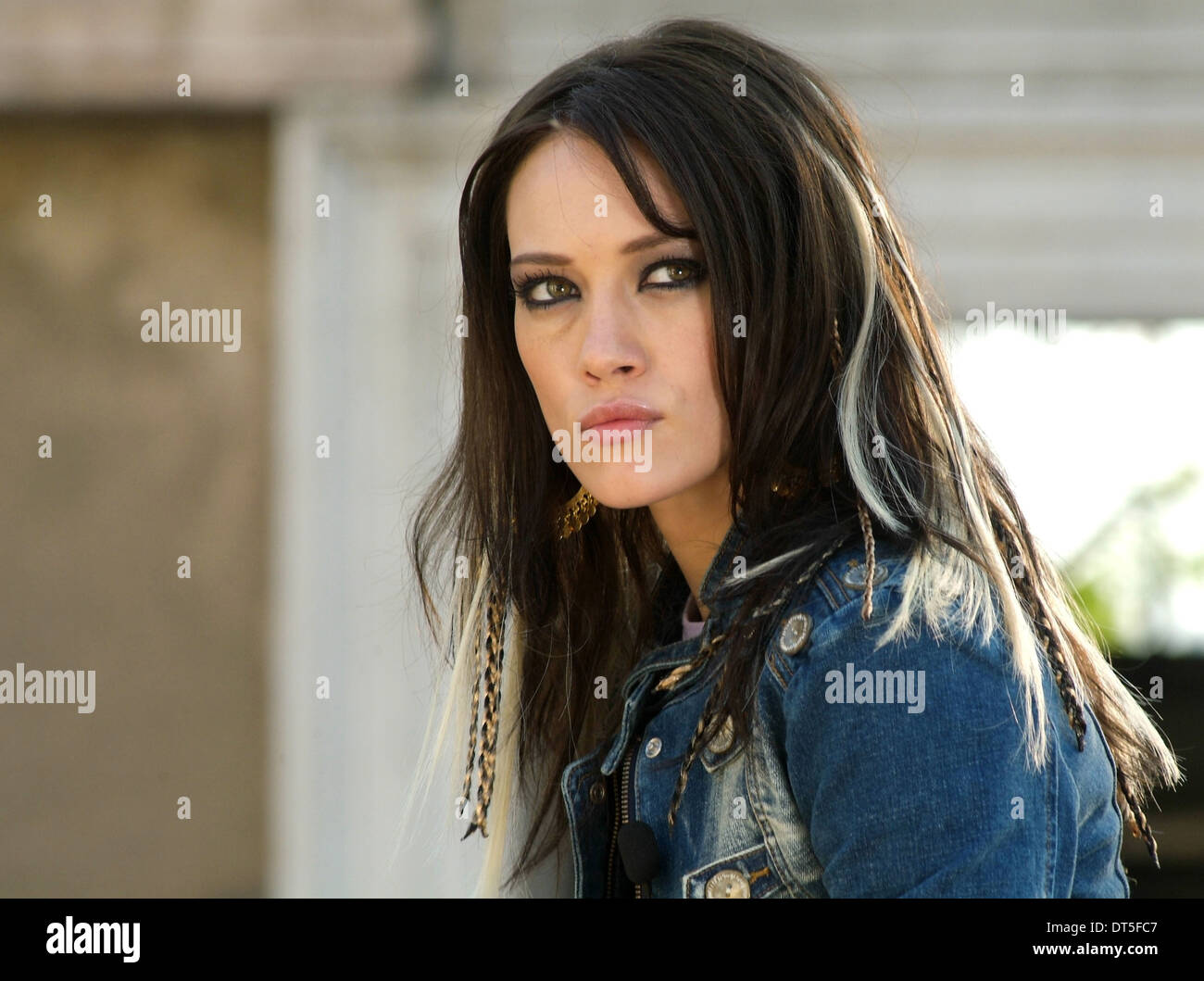 HILARY DUFF WAR INC. (2008) - Stock Image