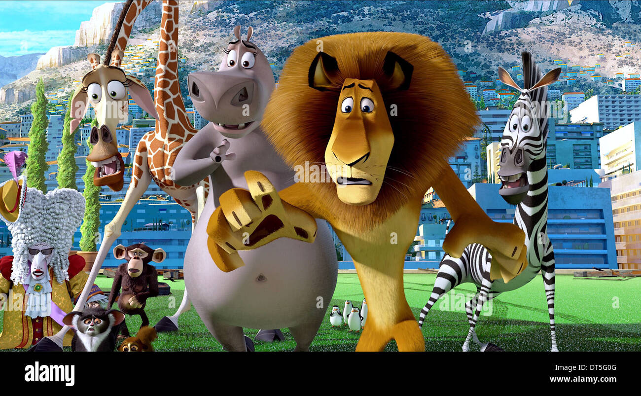 Download Film Madagascar 3 Europes Wanted 2012