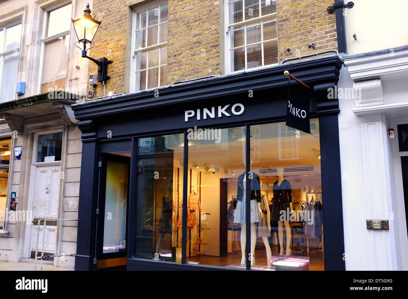 newest ac7a9 088a1 Pinko designer fashion boutique in London Stock Photo ...