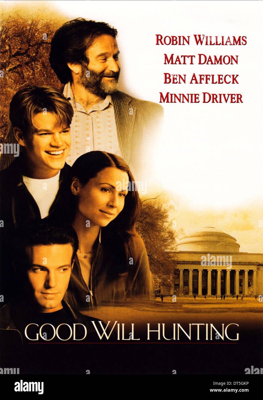 Robin Williams Matt Damon Minnie Driver Ben Affleck Good Will Stock Photo Alamy