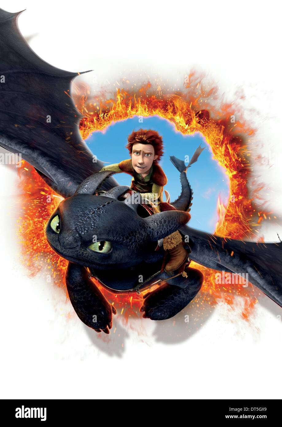 Toothless Hiccup How To Train Your Dragon 2010 Stock Photo Alamy