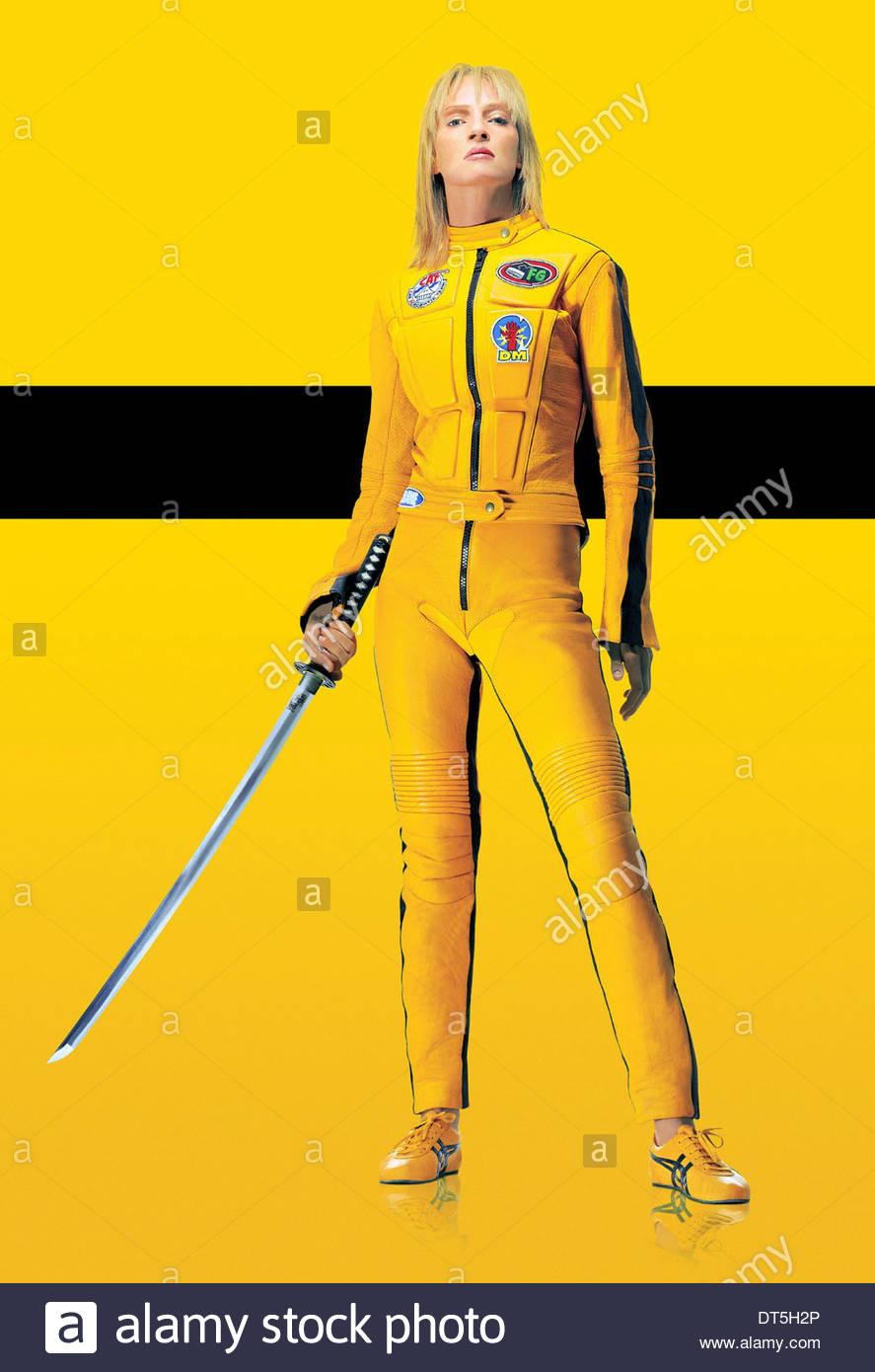 Uma Thurman Kill Bill Vol 1 2003 Stock Photo Alamy