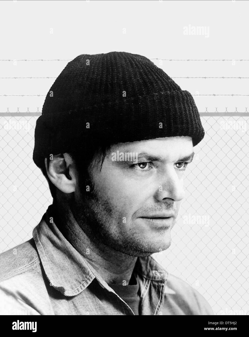 JACK NICHOLSON ONE FLEW OVER THE CUCKOOS NEST (1975) - Stock Image