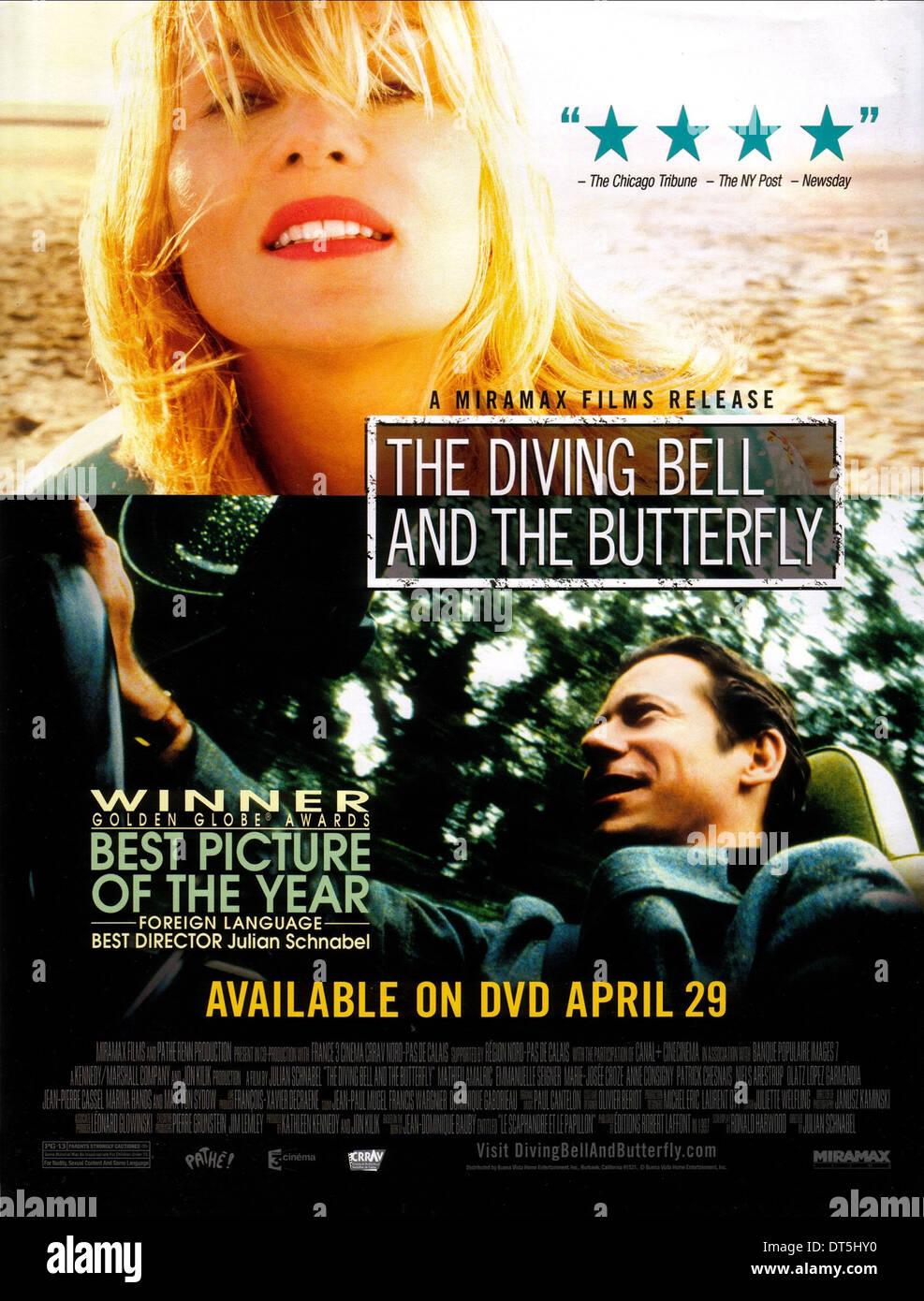 film le scaphandre et le papillon