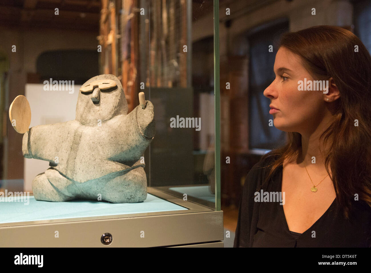 Exhibition 'Discoveries - Art, Science & Exploration' from the University of Cambridge Museums, Two Temple Place, London - Stock Image