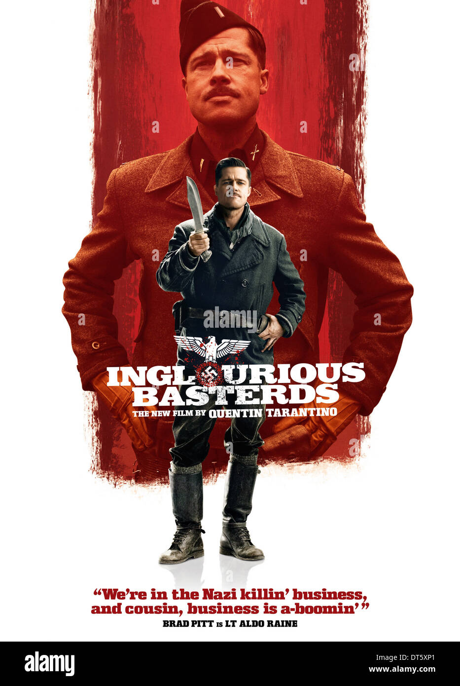 Inglourious Basterds-Luxury Framed Movie Poster-Quentin Tarantino-Brad Pitt