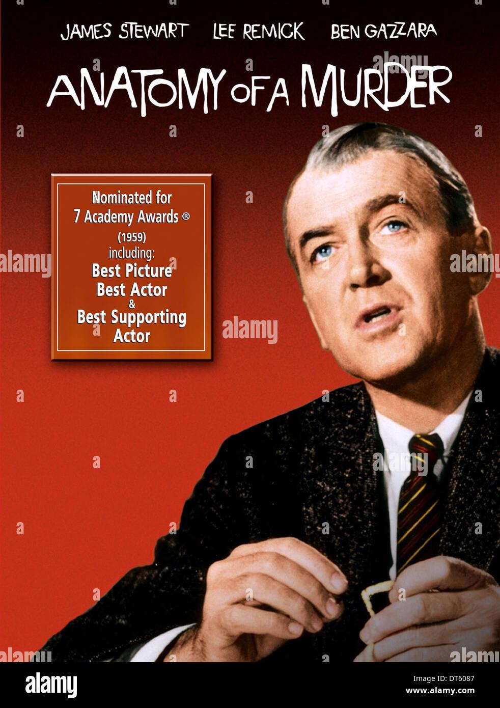JAMES STEWART POSTER ANATOMY OF A MURDER (1959 Stock Photo: 66514791 ...