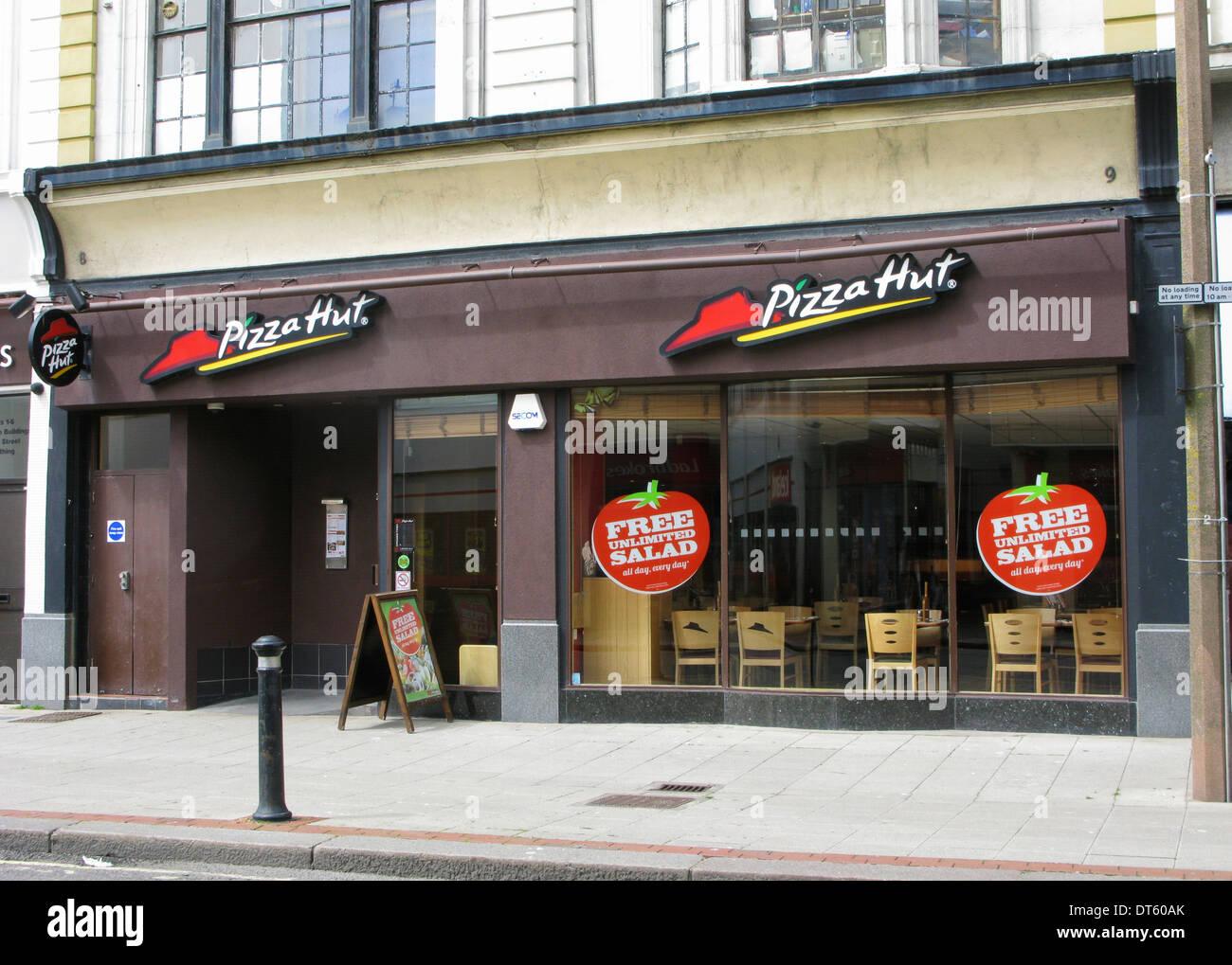 Fast Food Restaurant Uk Stock Photos Fast Food Restaurant