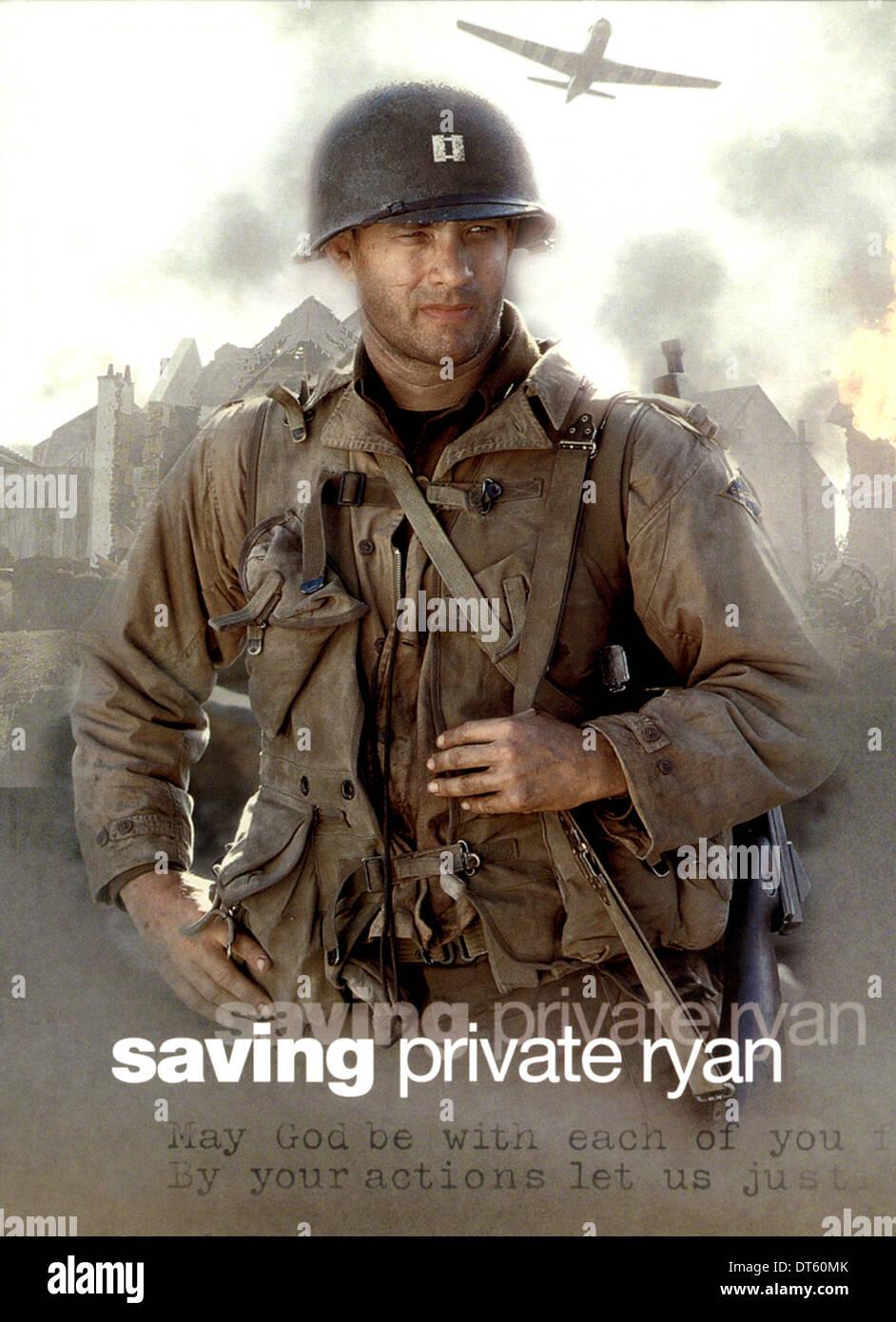 Tom Hanks Poster Saving Private Ryan 1998 Stock Photo Alamy