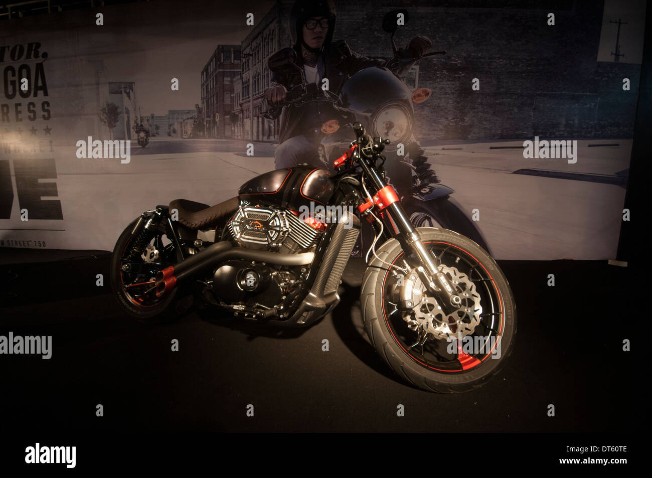 Harley Davidson 750 Cc Street Bike Launched At The India Bike Week Held At Vagator Beach Goa Which Is A Festival Of Superbikes