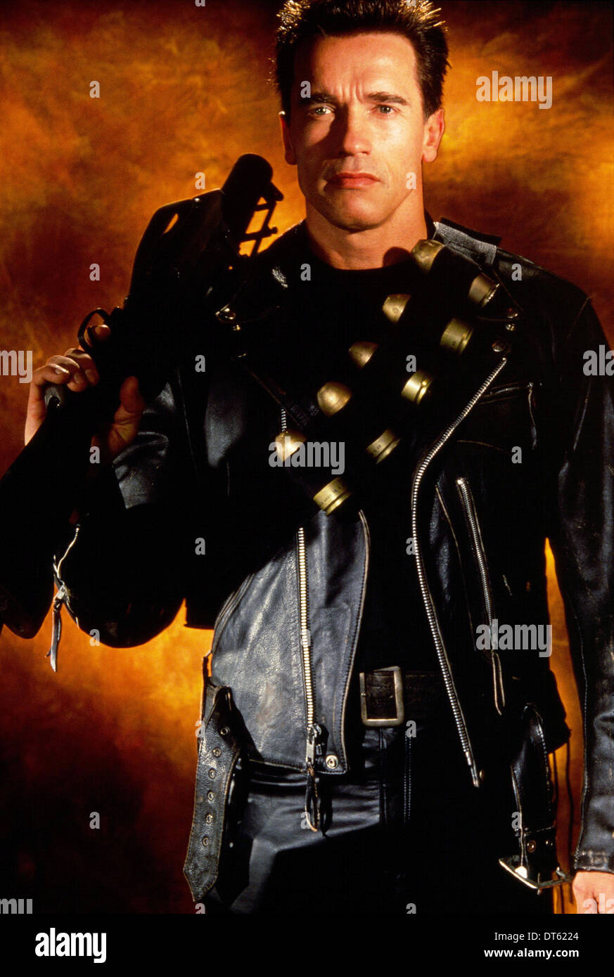 Arnold Schwarzenegger Terminator 2 Judgment Day 1991 Stock Photo Alamy