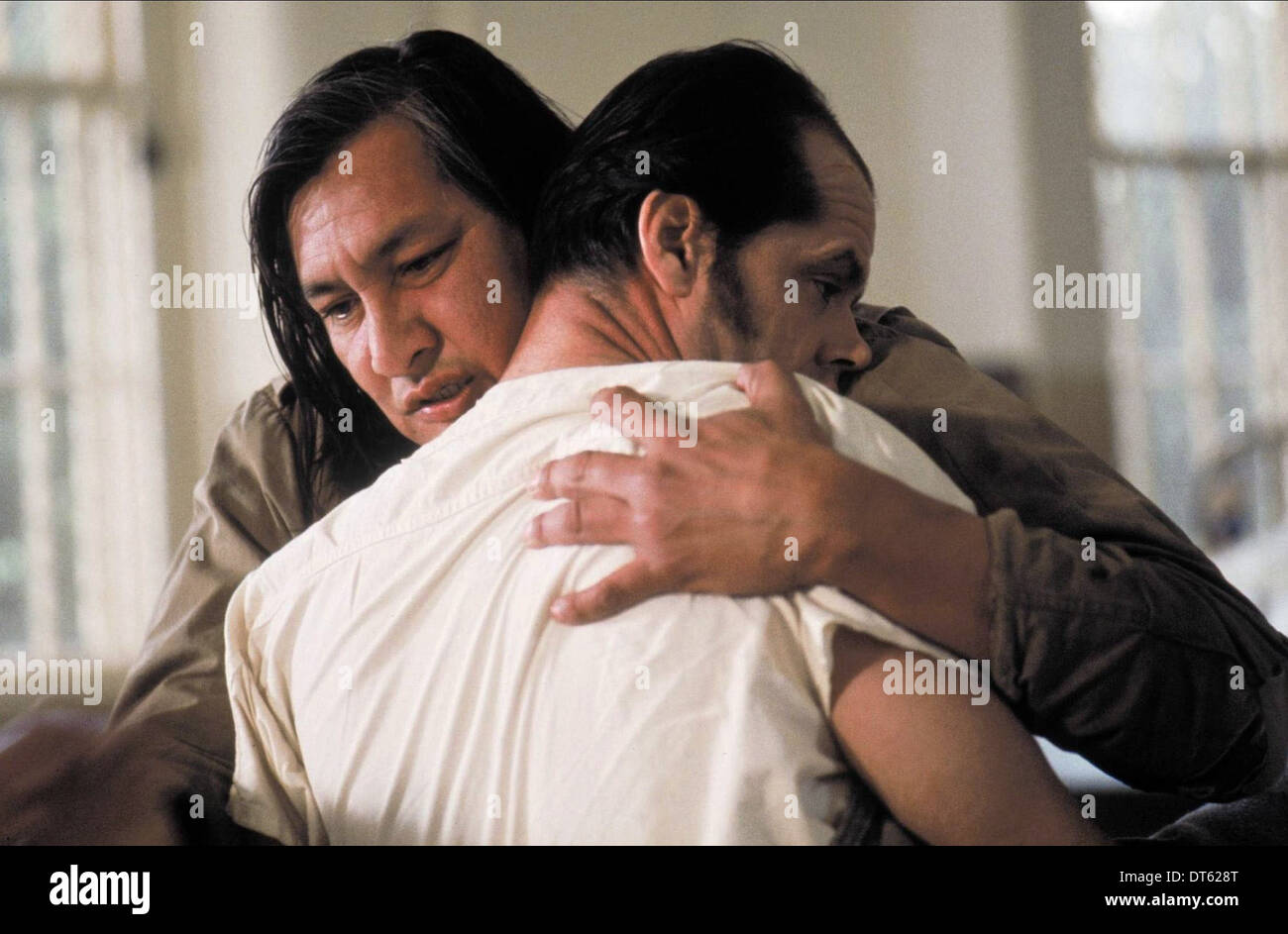 WILL SAMPSON, JACK NICHOLSON, ONE FLEW OVER THE CUCKOO'S NEST, 1975 Stock Photo