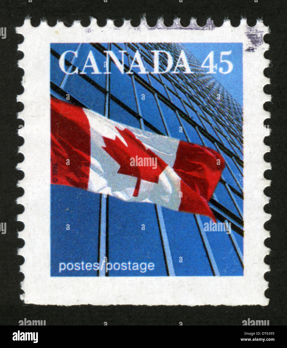 Canadian Postage Stamp Canada Flag National Flag Of Canada