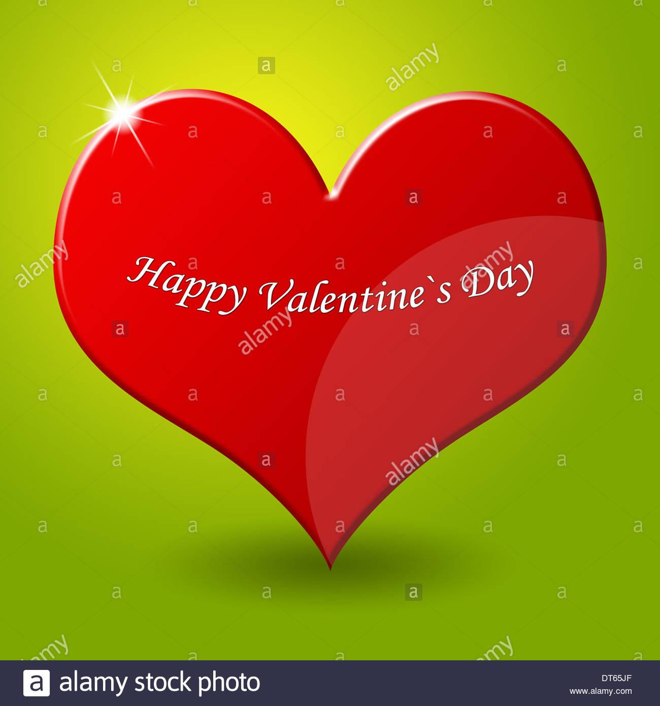 Happy Valentine S Day Icon Logo Sign Heart Stock Photo 66518999 Alamy