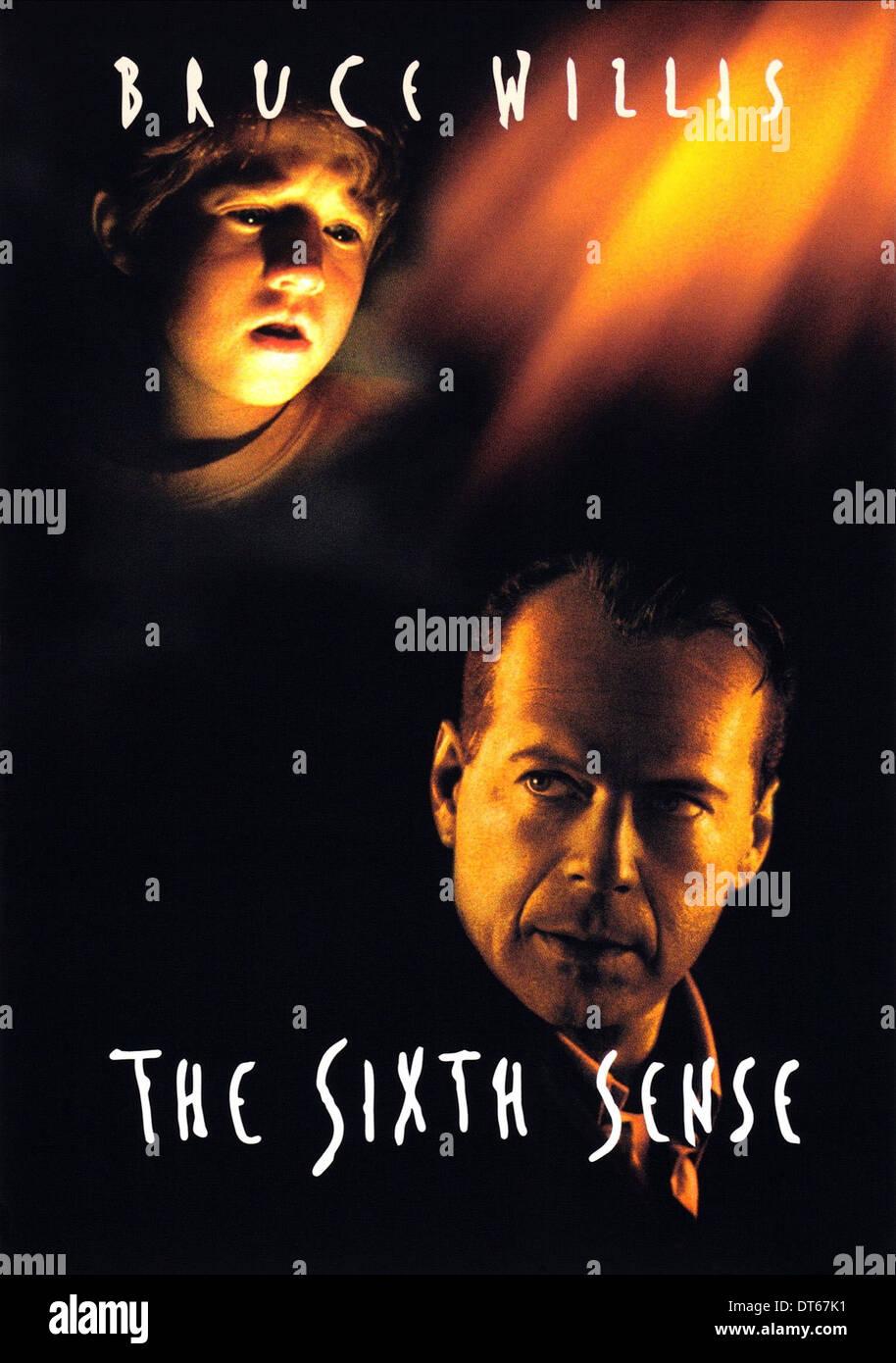 Haley Joel Osment Bruce Willis The Sixth Sense 1999 Stock Photo Alamy