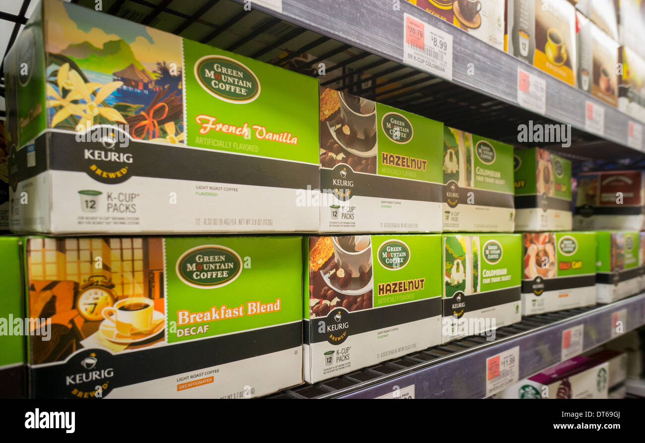 Green mountain coffee stock options