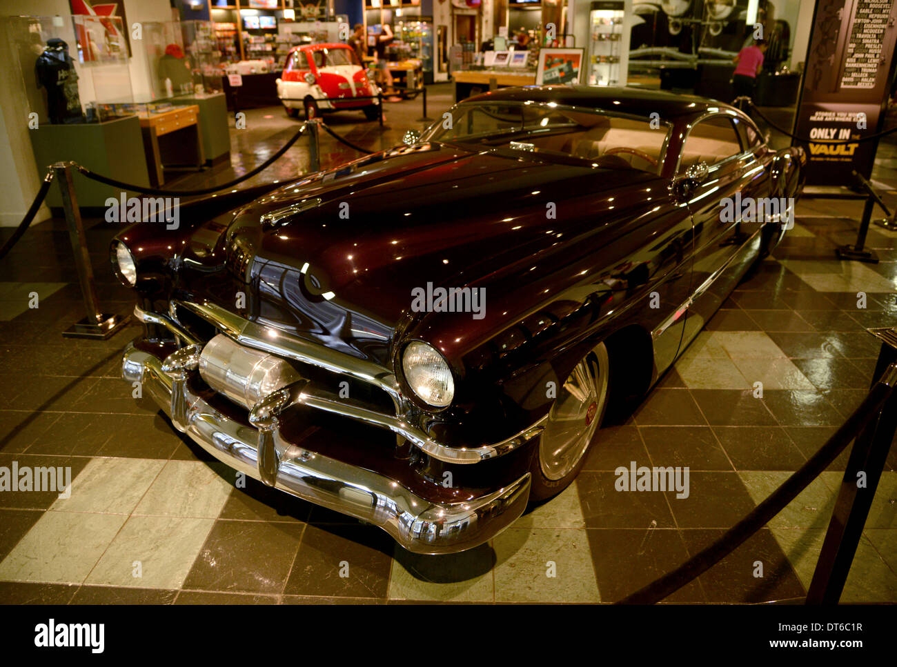 Cadzilla Zz Top Musician Billy Gibbons Custom 1948 Cadillac Car