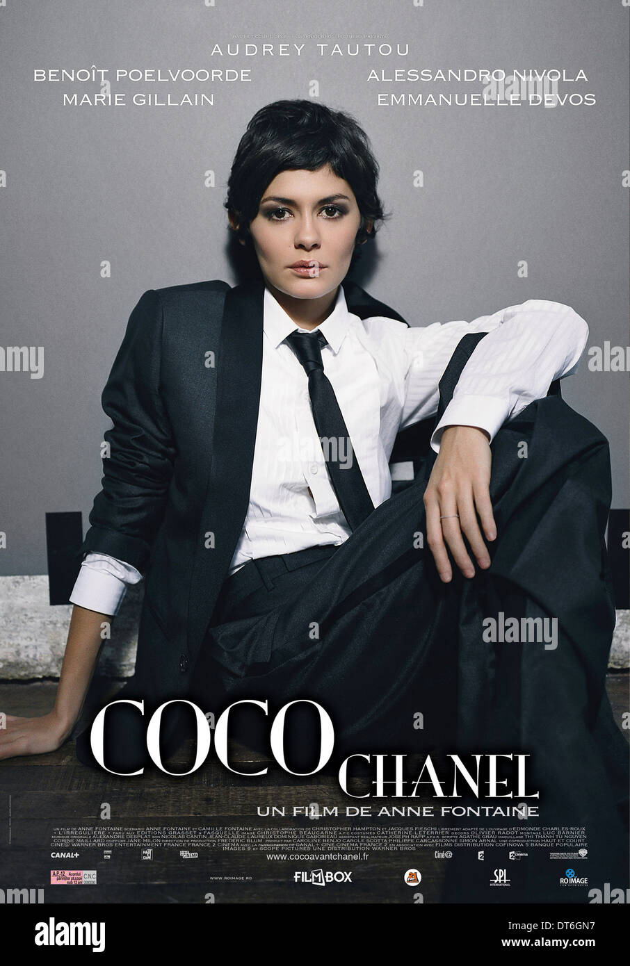 AUDREY TAUTOU POSTER COCO AVANT CHANEL; COCO BEFORE CHANEL (2009 ...
