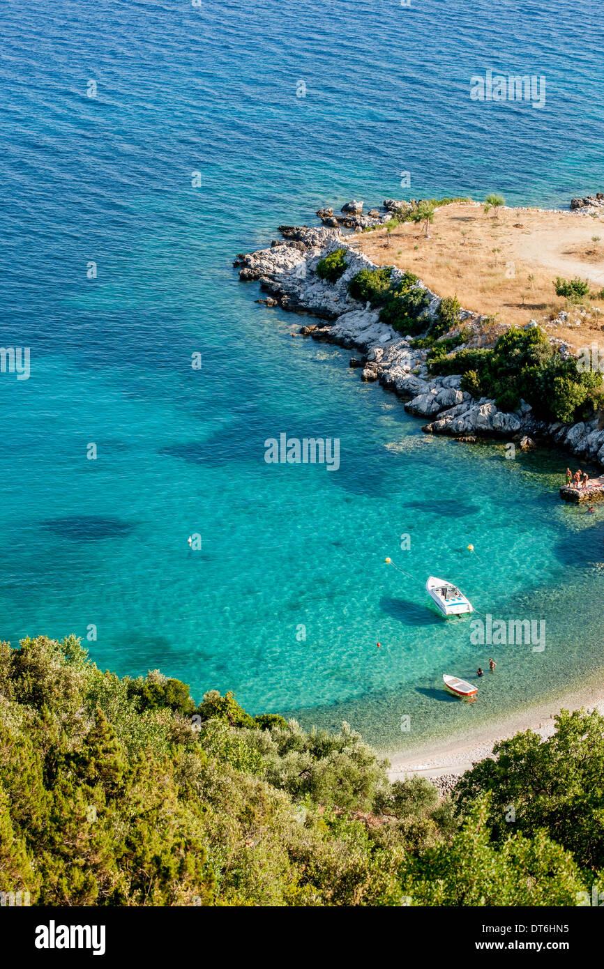 Small bay near Dubrovnic Stock Photo