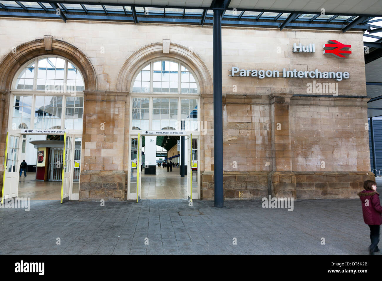 Paragon Interchange intercity Kingston upon Hull City East Riding Paragon Interchange, Yorkshire, UK, England GB - Stock Image