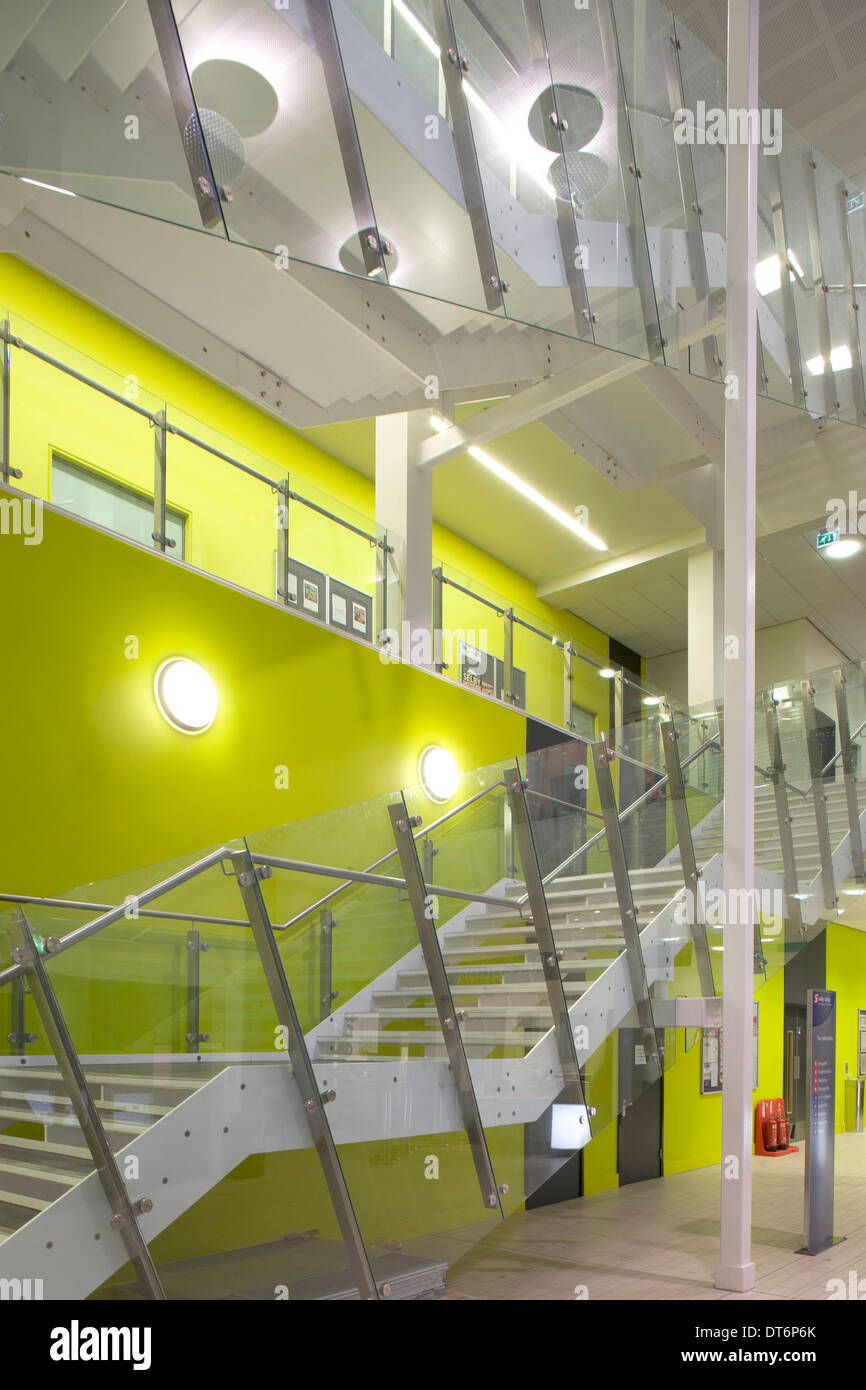 Selby College, Yorkshire - Stock Image