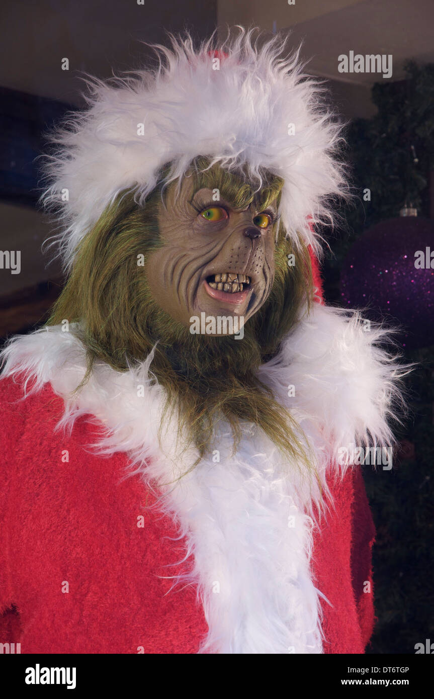 The Grinch. A model of the grumpy green creature from u201cHow the Grinch stole & Grinch Stock Photos u0026 Grinch Stock Images - Alamy