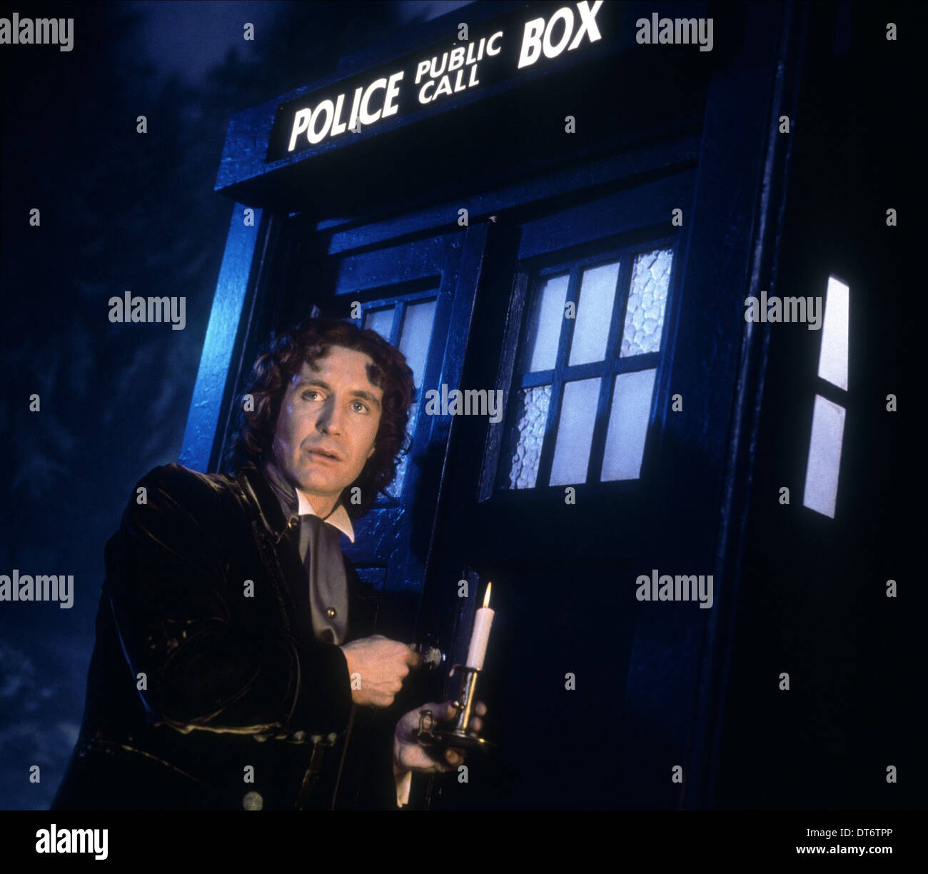 PAUL MCGANN DOCTOR WHO (1996) - Stock Image