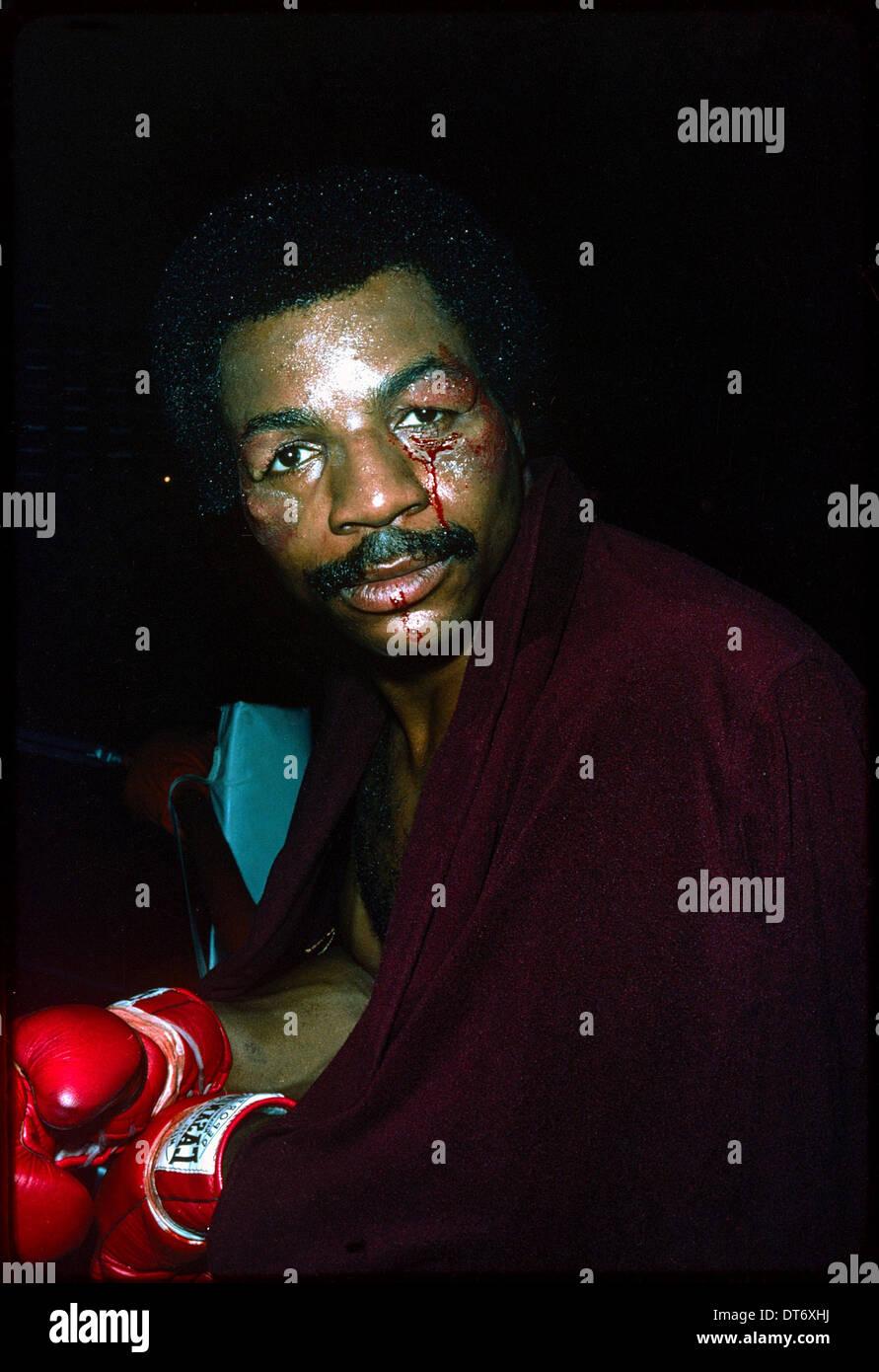 CARL WEATHERS ROCKY (1976) - Stock Image