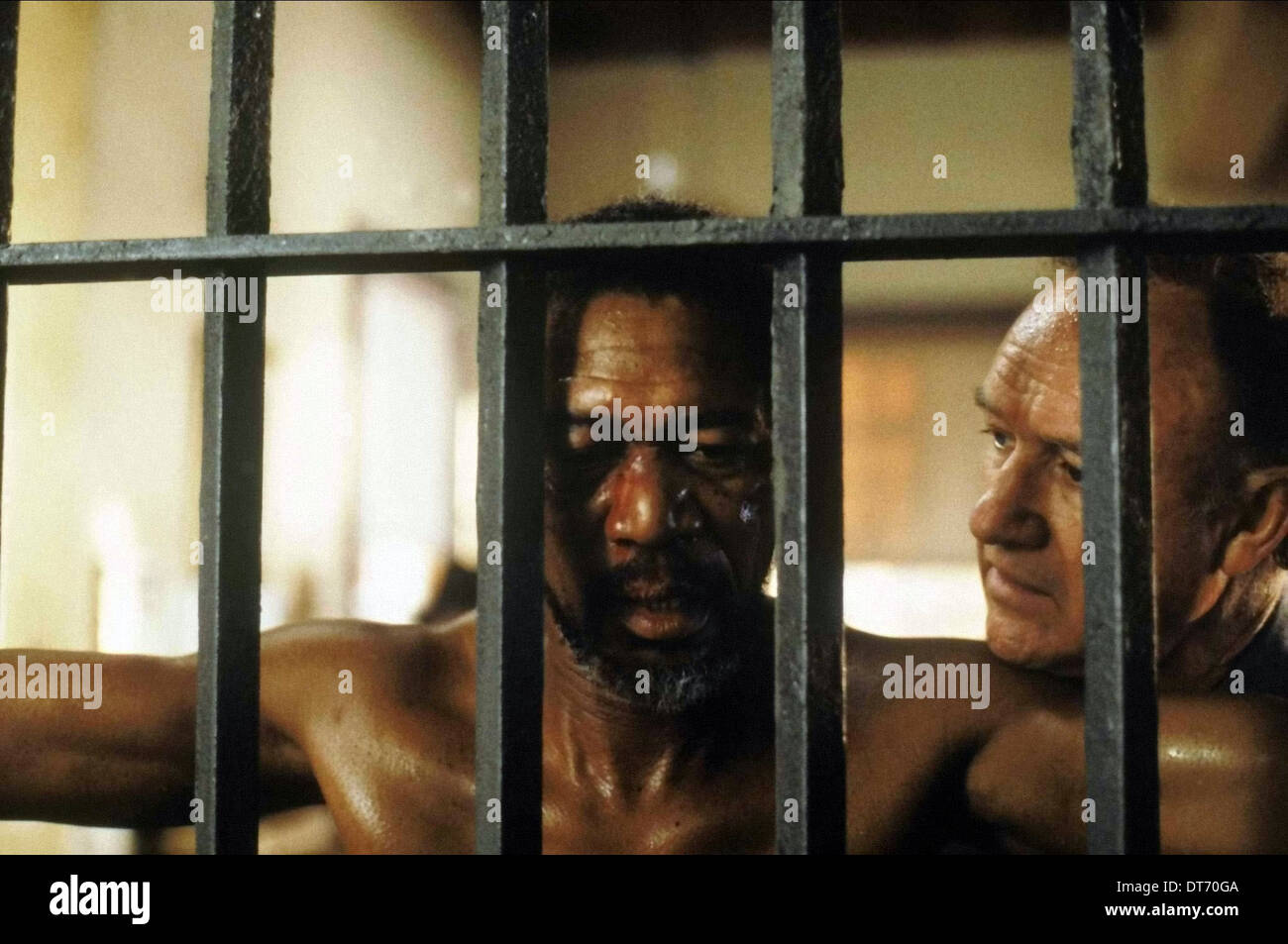 MORGAN FREEMAN & GENE HACKMAN UNFORGIVEN (1992) Stock Photo