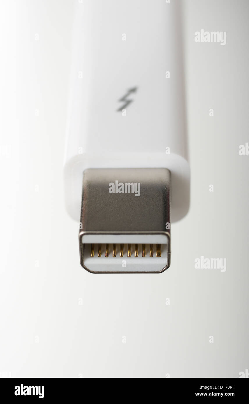 Apple Thunderbolt Cable - Stock Image