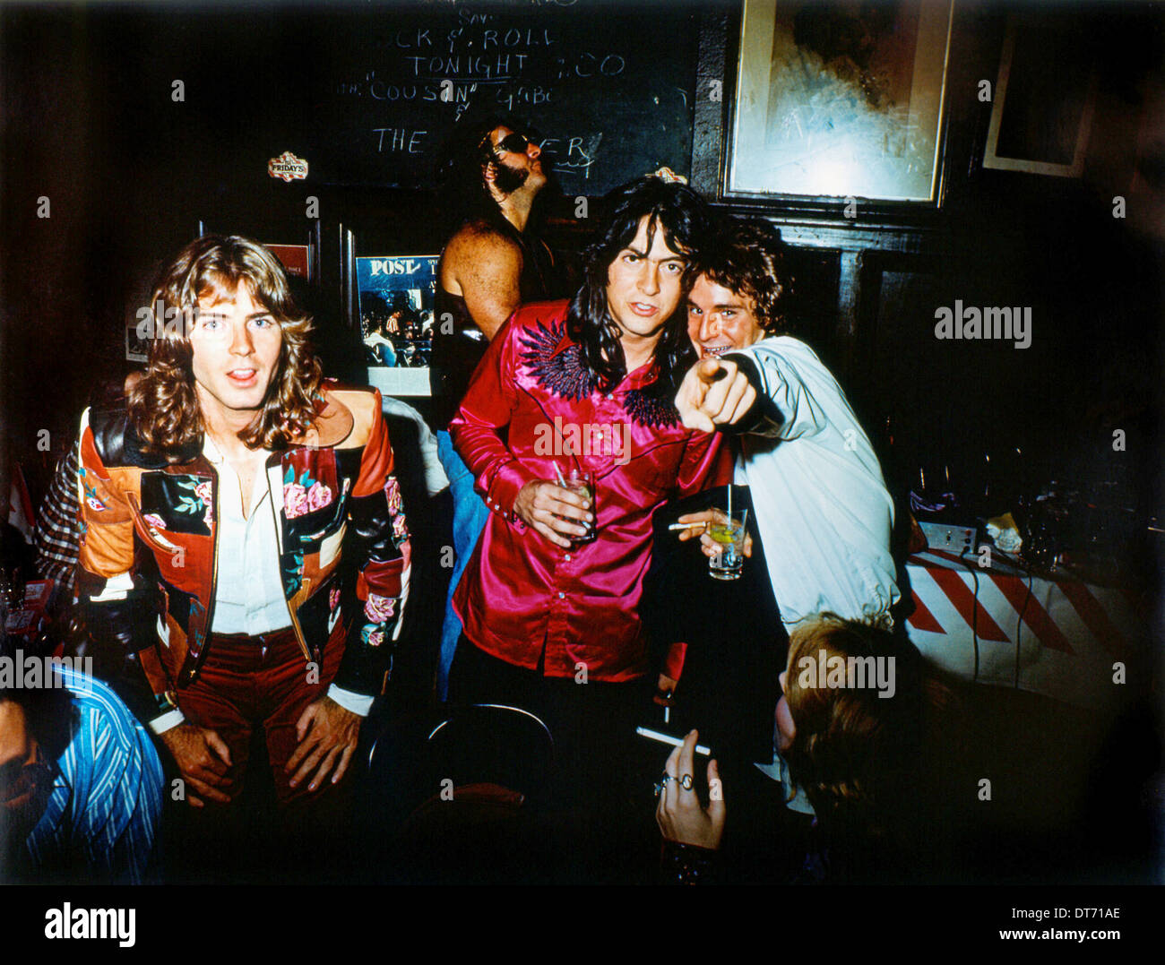 ALEX CHILTON JODY STEPHENS & ANDY HUMMEL BIG STAR: NOTHING CAN HURT ME (2012) - Stock Image