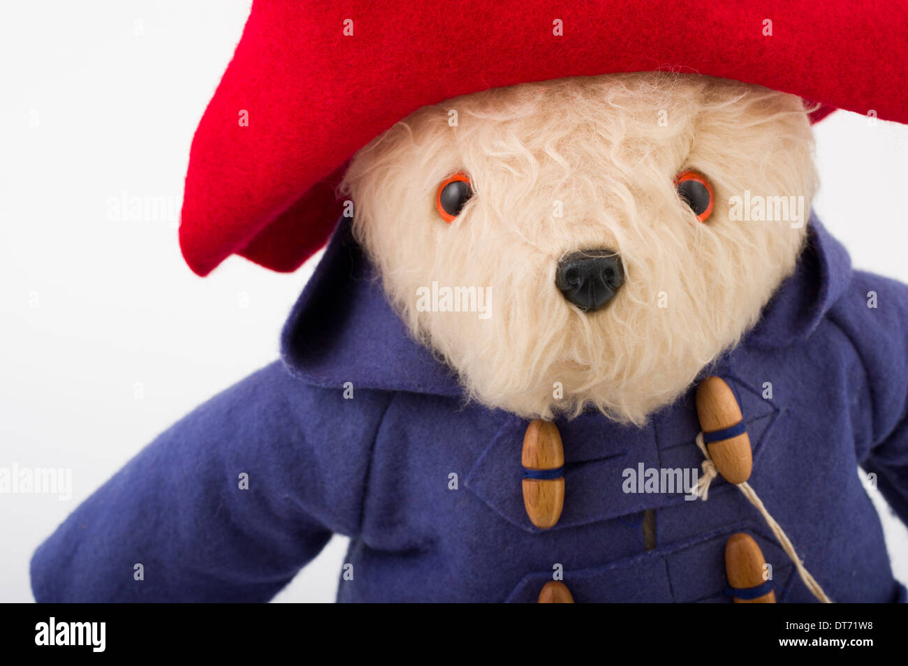 Gabrielle Designs Paddington Bear Iconic British Children's Toy - Stock Image
