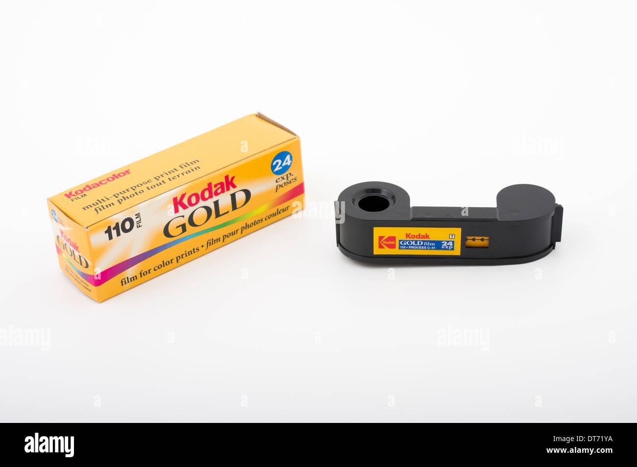 Kodak 110 format film. - Stock Image