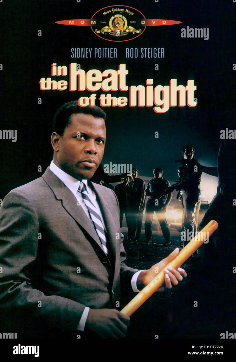 In the heat of the night Sidney Poitier movie poster