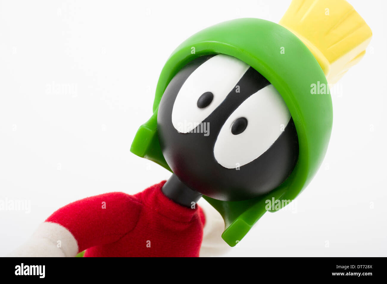 Marvin The Martian a Looney Tunes cartoon character children's toy - Stock Image