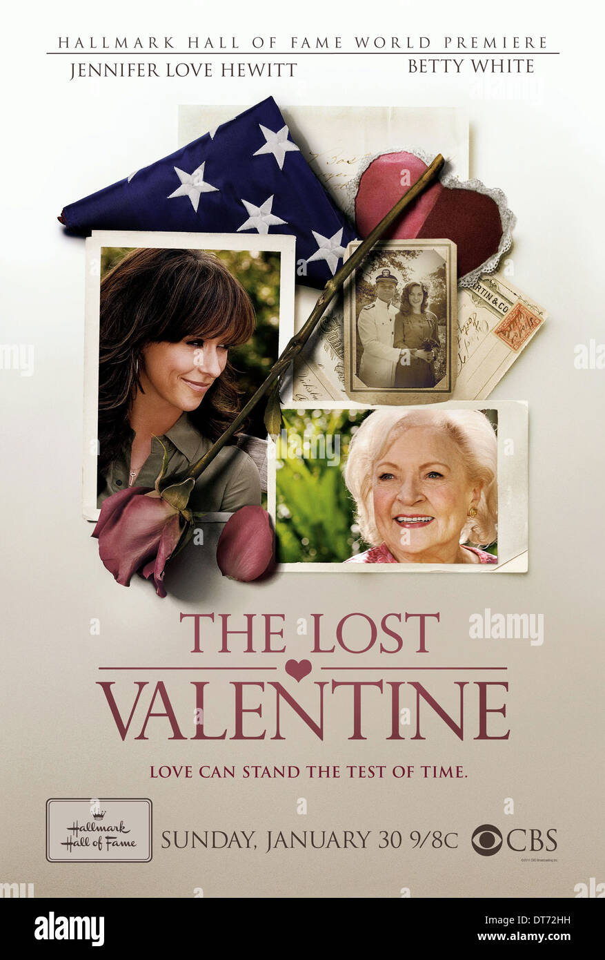 JENNIFER LOVE HEWITT & BETTY WHITE THE LOST VALENTINE (2011) - Stock Image